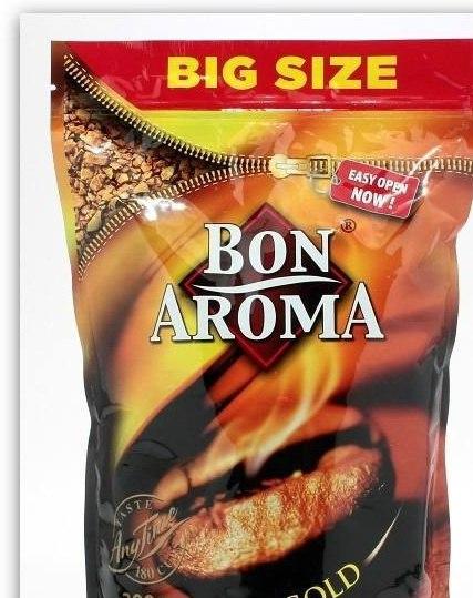 BON AROMA GOLD – это высококачественный натуральный сублимированный растворимый кофе, вкус которого отличается несравненно мягким вкусом и чудесным ароматом, благодаря деликатной обжарке.